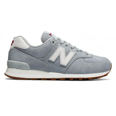 new balance 574 hombres azules